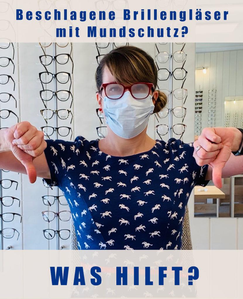 Beschlagene Brillengläser mit Mundschutz? 1